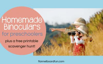 Preschool Binoculars: Let's Play!