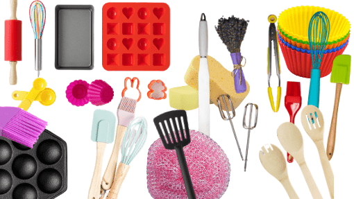 preschool painting tools from the kitchen